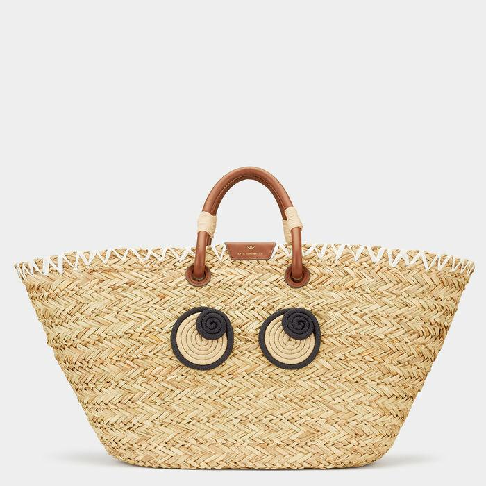 Eyes Basket Tote