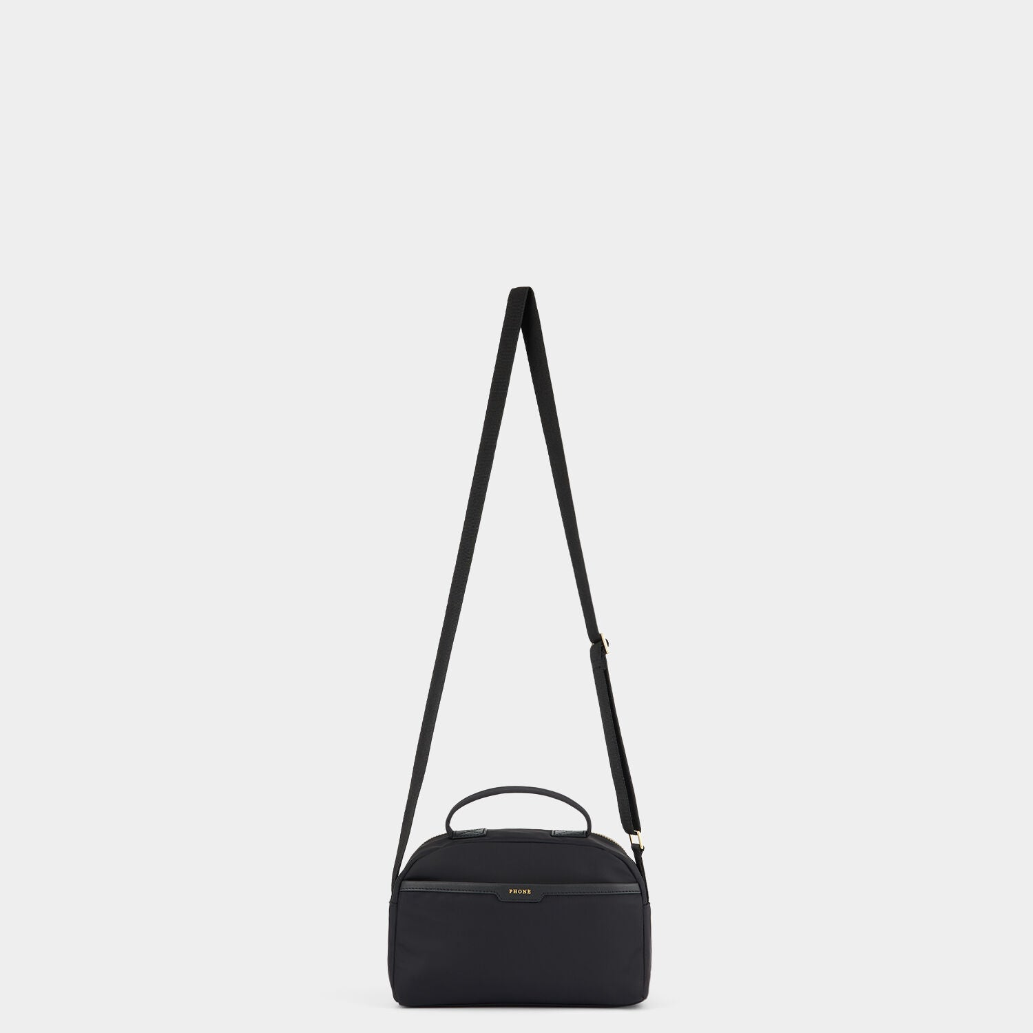 Multi-Pocket Nylon Cross-Body