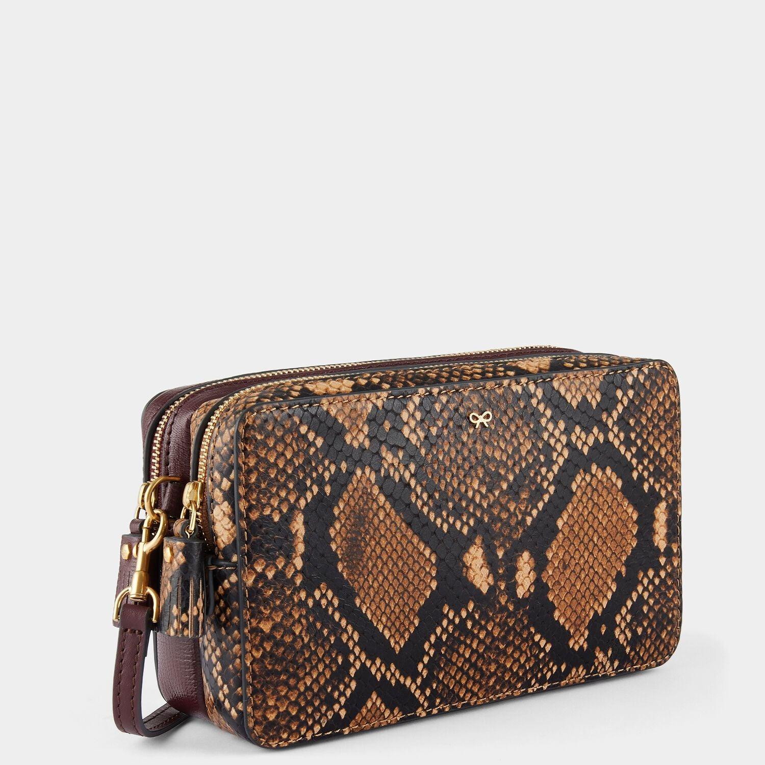 Python Print Double Zip Cross-Body
