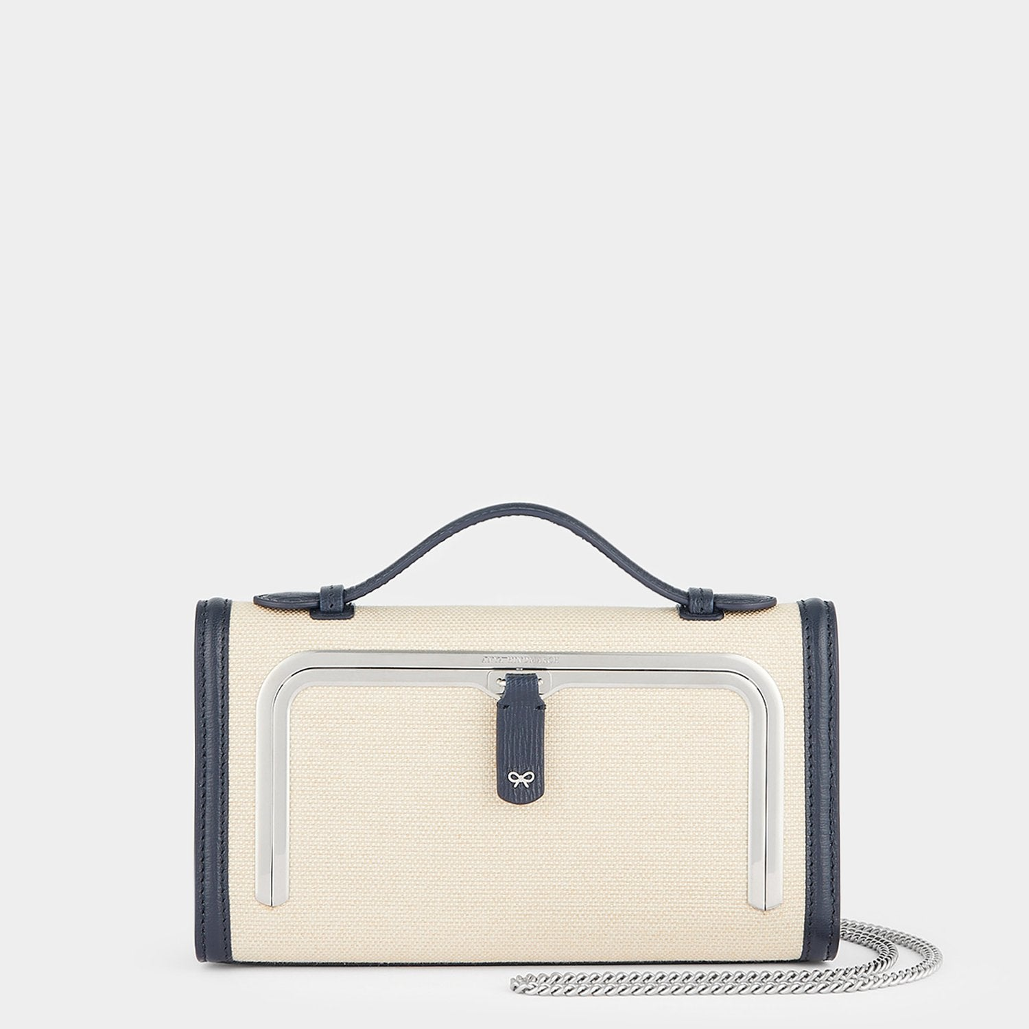 Belgian Linen Mini Postbox Bag