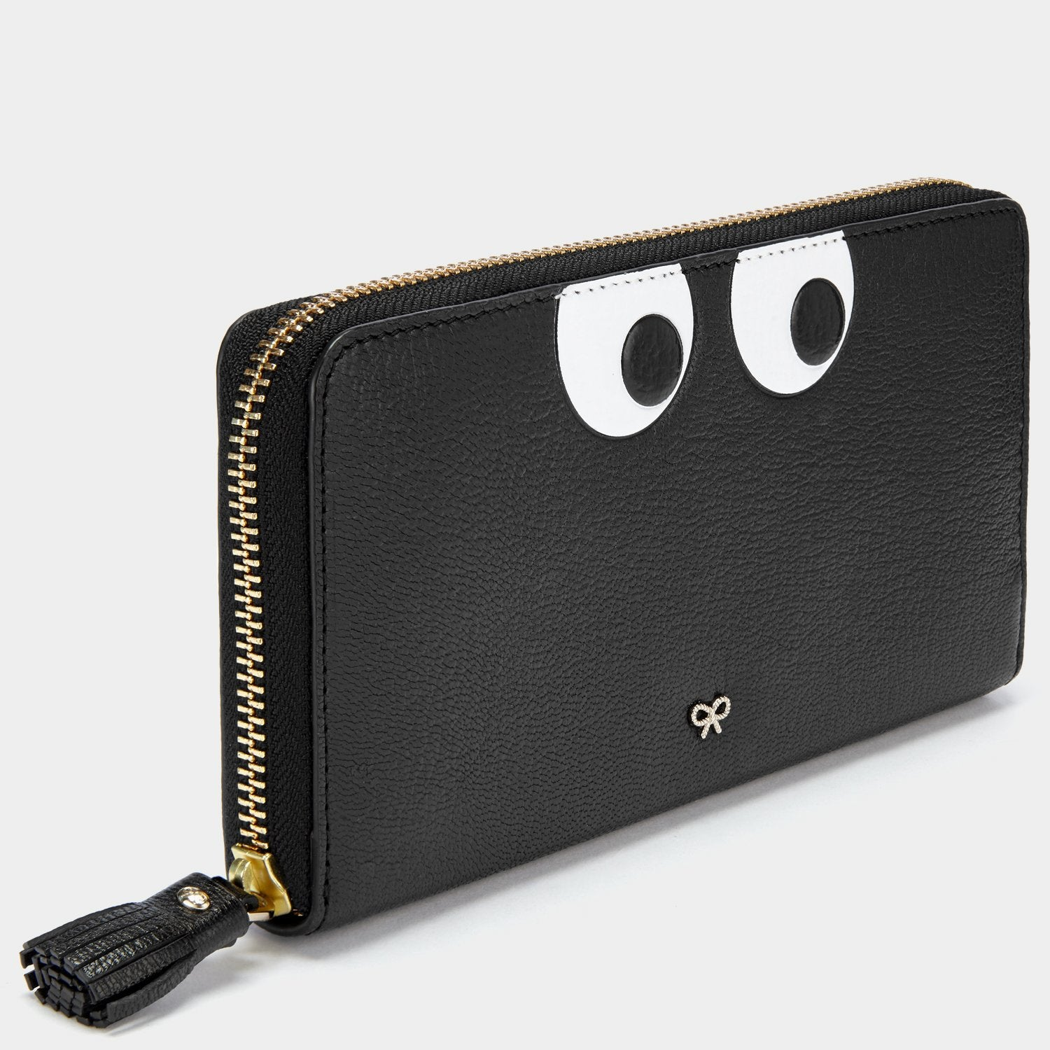 Eyes Large Zip-Around Wallet