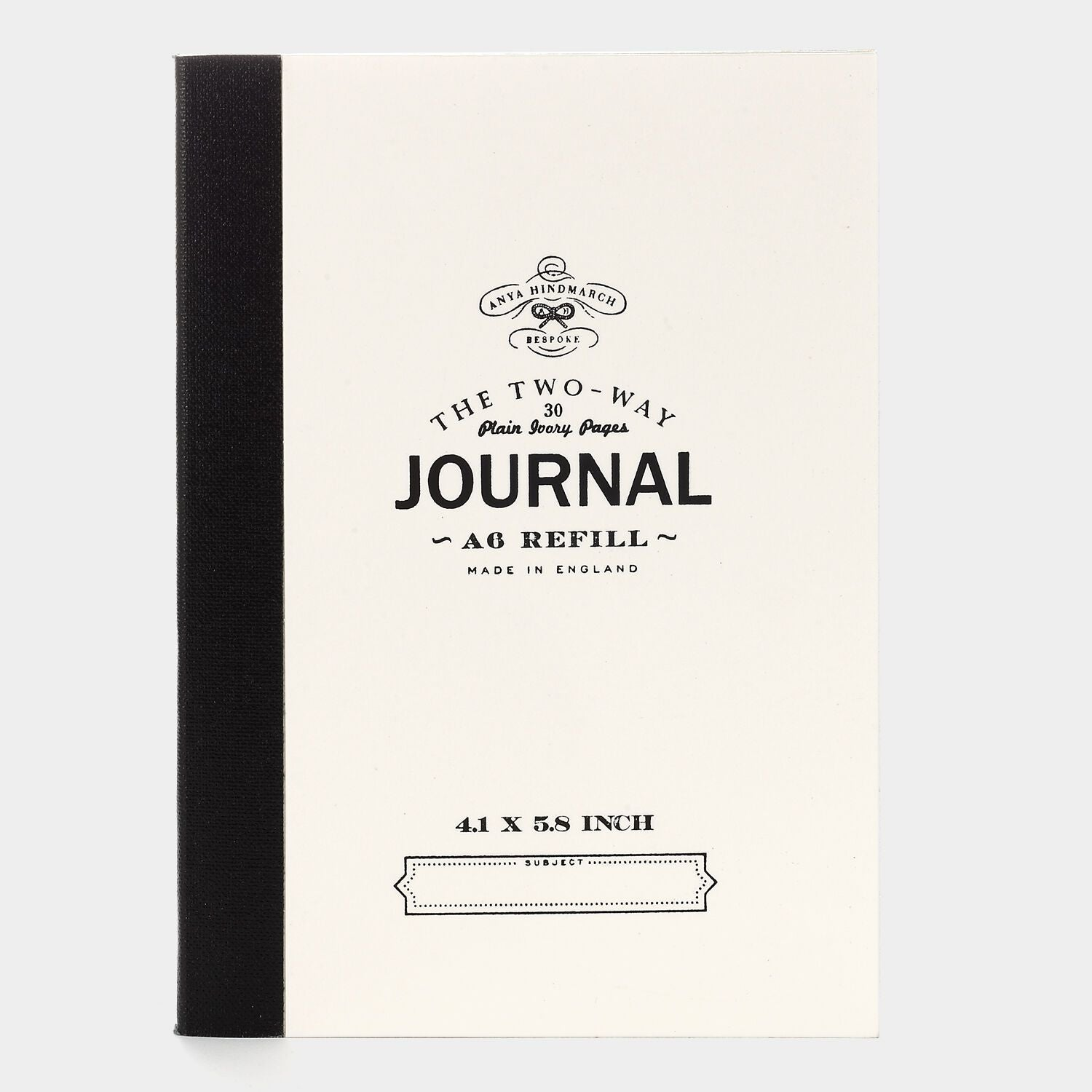 Bespoke A6 Two Way Journal Refill
