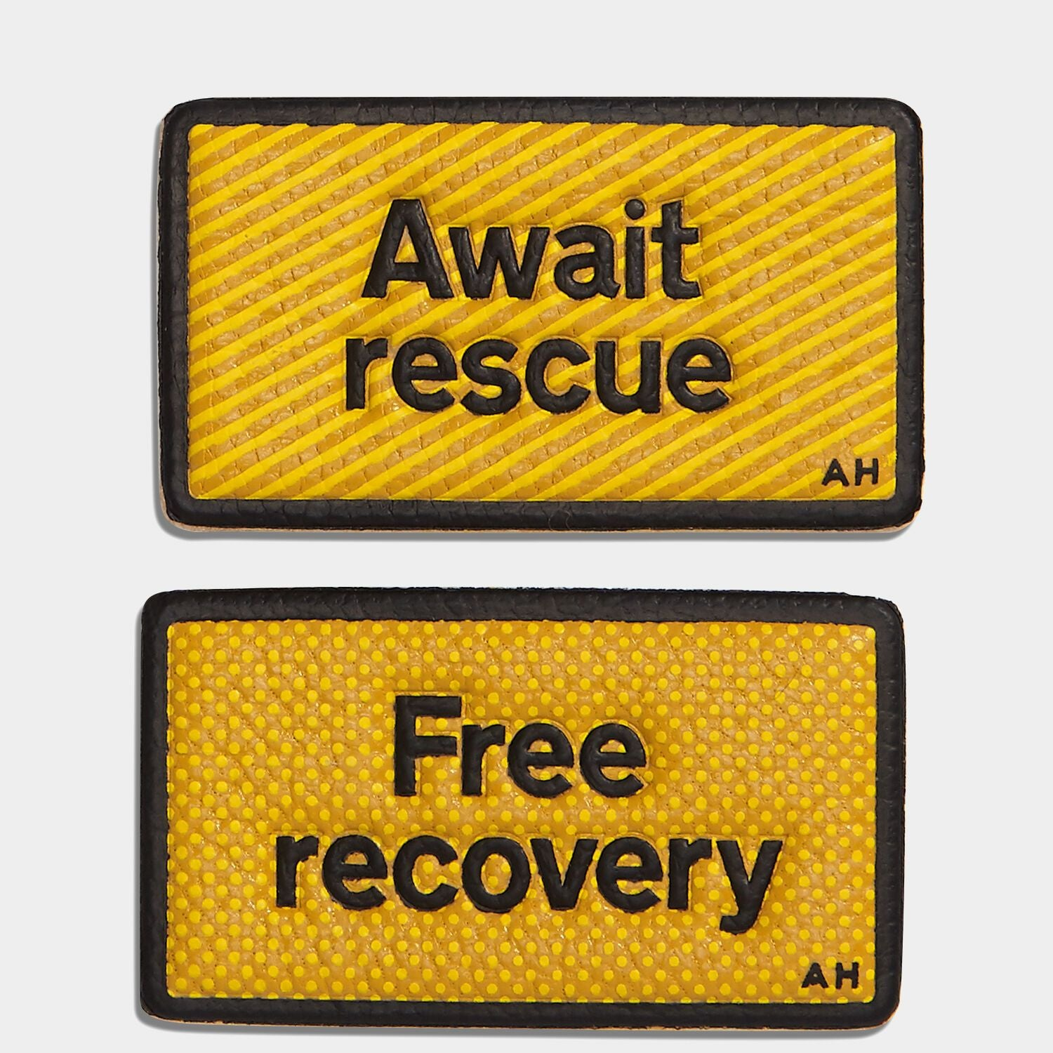 Free Recovery Leather Stickers