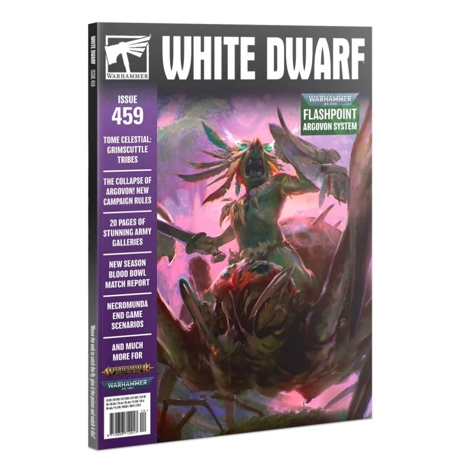 White Dwarf Magazine: 2020: 459 | Chimera Hobby & Games