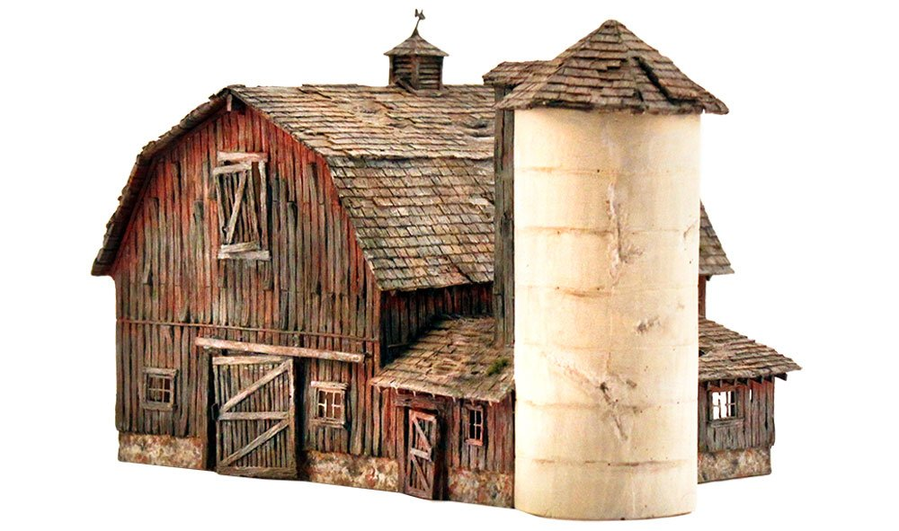 Woodland Scenics: Rustic Barn - Landmark Structures(R) Kit | Chimera Hobby & Games