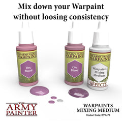 Army Painter: Warpaints: Effects: Warpaints Mixing Medium | Chimera Hobby & Games