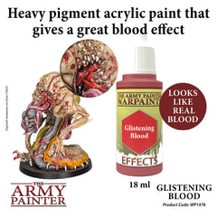 Army Painter: Warpaints: Effects: Glistening Blood | Chimera Hobby & Games