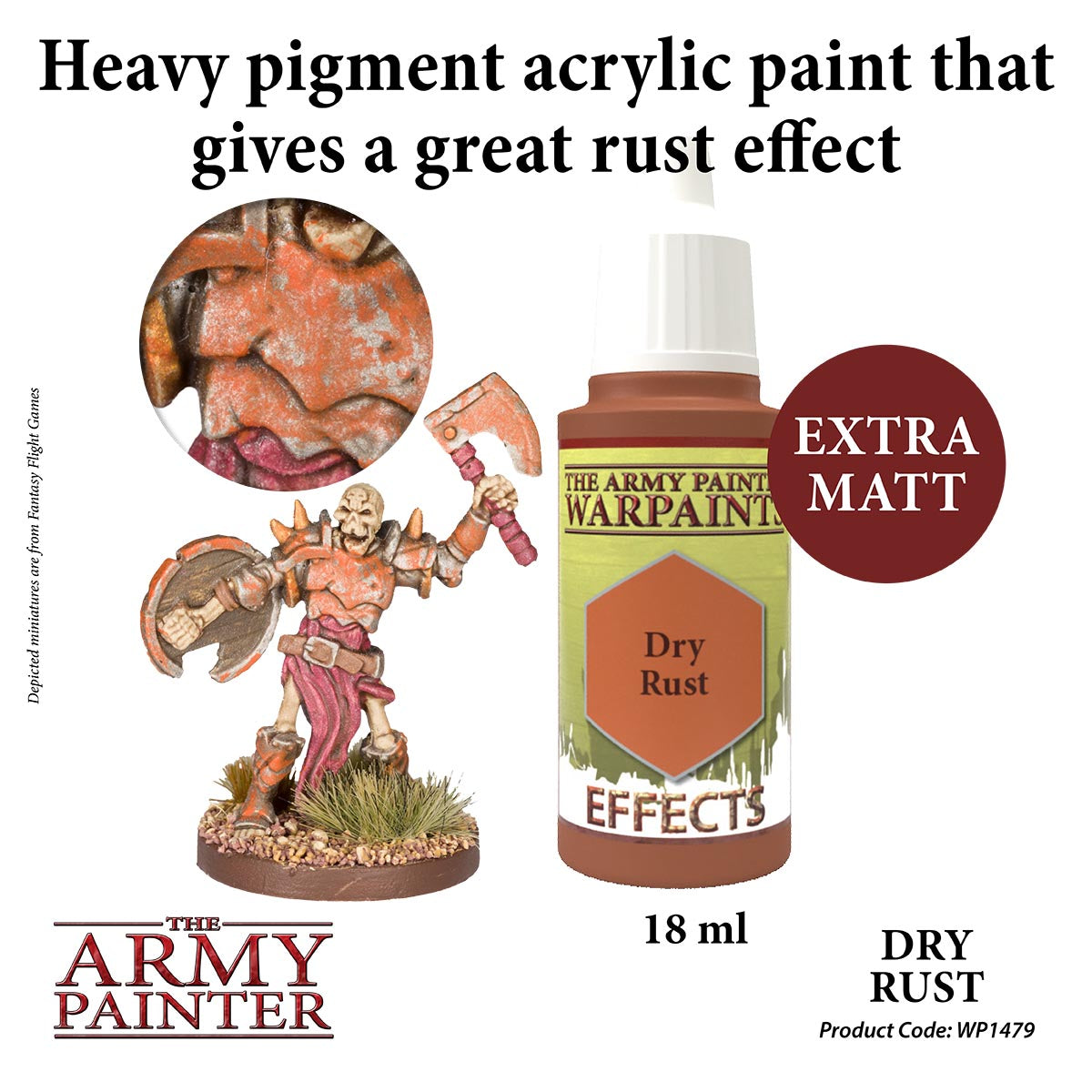 Army Painter: Warpaints: Effects: Dry Rust | Chimera Hobby & Games