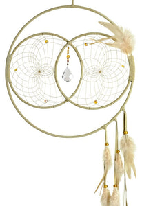 Soul Connection Double Dream Catcher