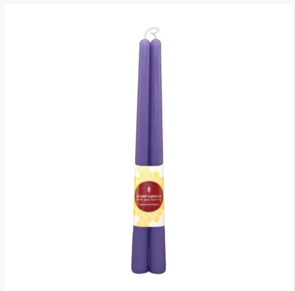 Beeswax Candles - 12 Inch Taper