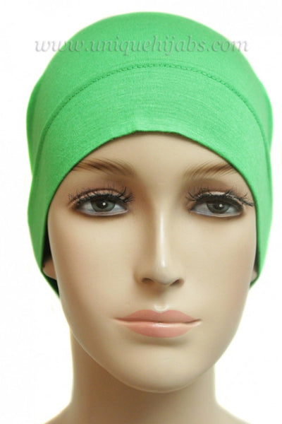 Tube Underscarf Stretch Jersey-Light Green