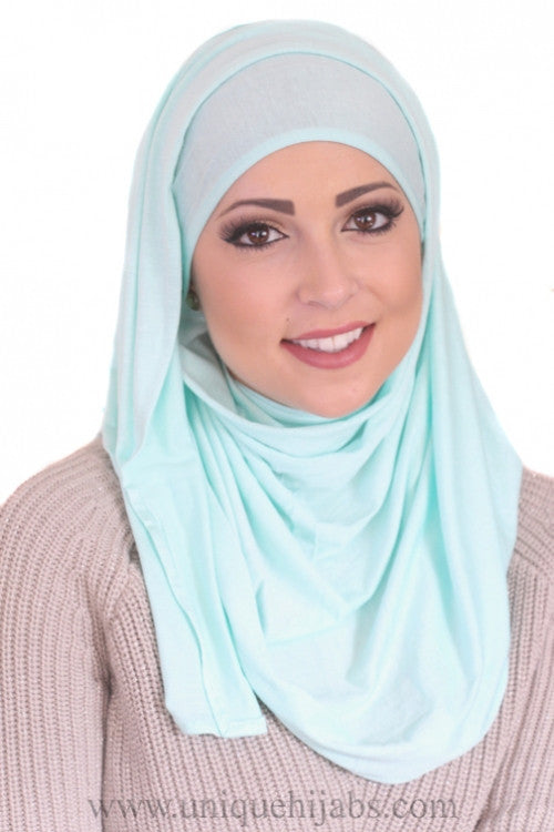 Jersey Hijab Basic-Mint