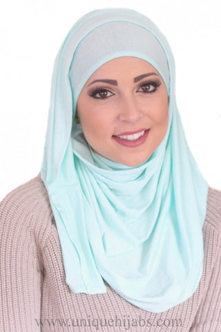 Jersey Hijab Basic- Royal Blue
