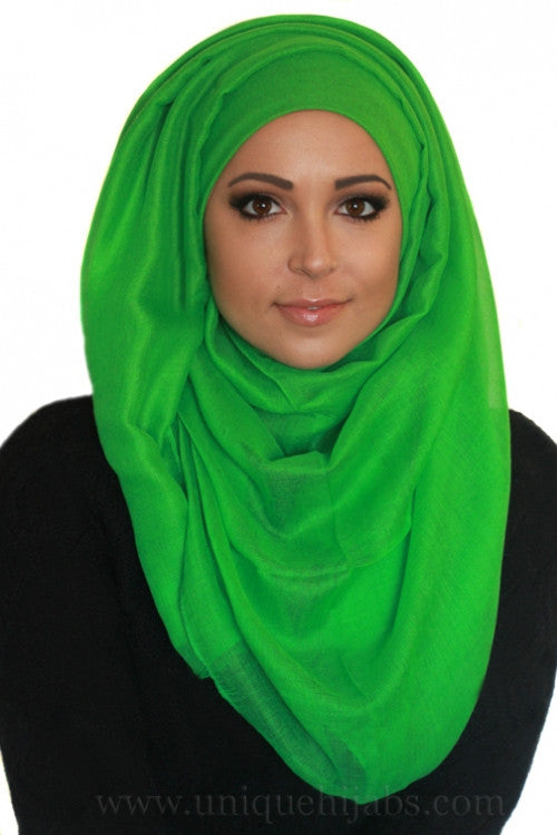 Light Maxi Hijab Luxury-Light Green