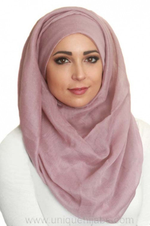 Light Maxi Hijab Luxury-Mauve
