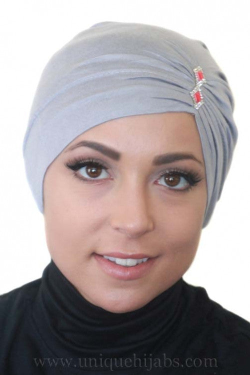 Tube Underscarf Diamond-Gray