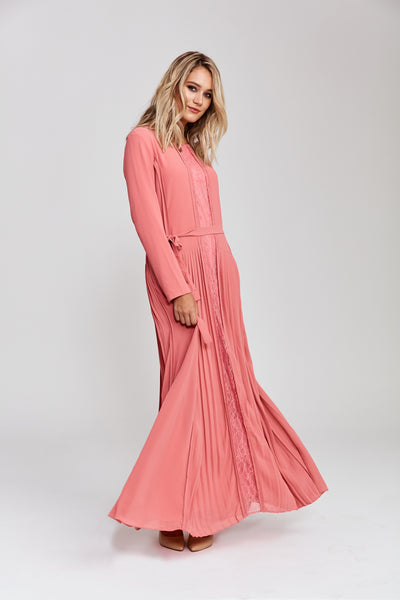 Dusty Rose Gardens Dress