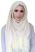 Lace Edge Light Hijab-Beige