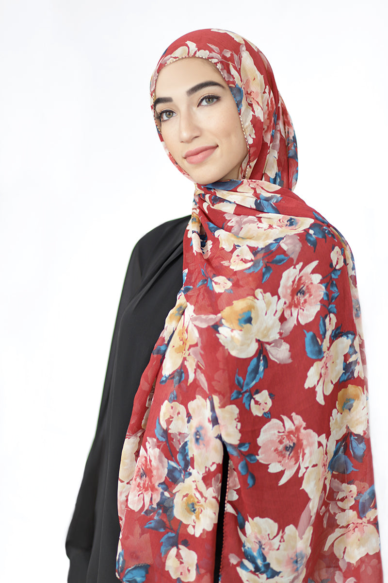Wildflower Signature Chiffon Hijab