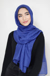 Gold DustLight Hijab -Royal Blue
