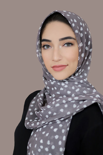 Sweet Treat Polka Signature Chiffon Hijab