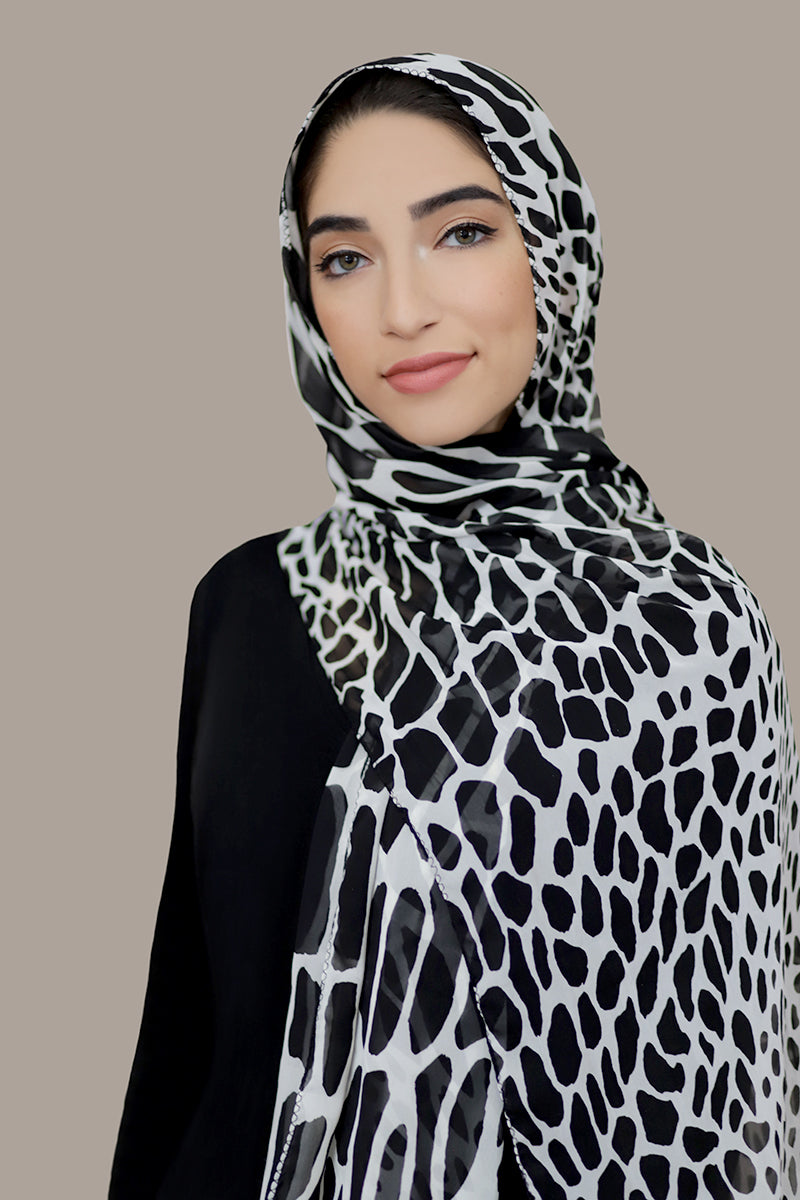 Winter Magic Signature Chiffon Hijab