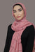 Check Print Light Hijab-Pink