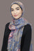 Distant Dreams Viscose Hijab-Taupe Blue