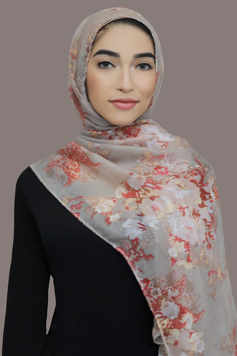 Distant Dreams Viscose Hijab-Taupe