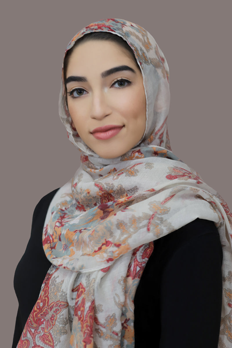 Distant Dreams Viscose Hijab-Beige
