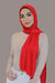 Small Jersey HIjab-Red