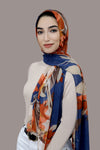 Leaves And Shadows Signature Chiffon Hijab