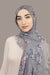 Field Of Dreams Light Hijab-Gray