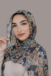 Field Of Paisleys Signature Chiffon Hijab