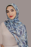 Lurex Blues Signature Chiffon Hijab