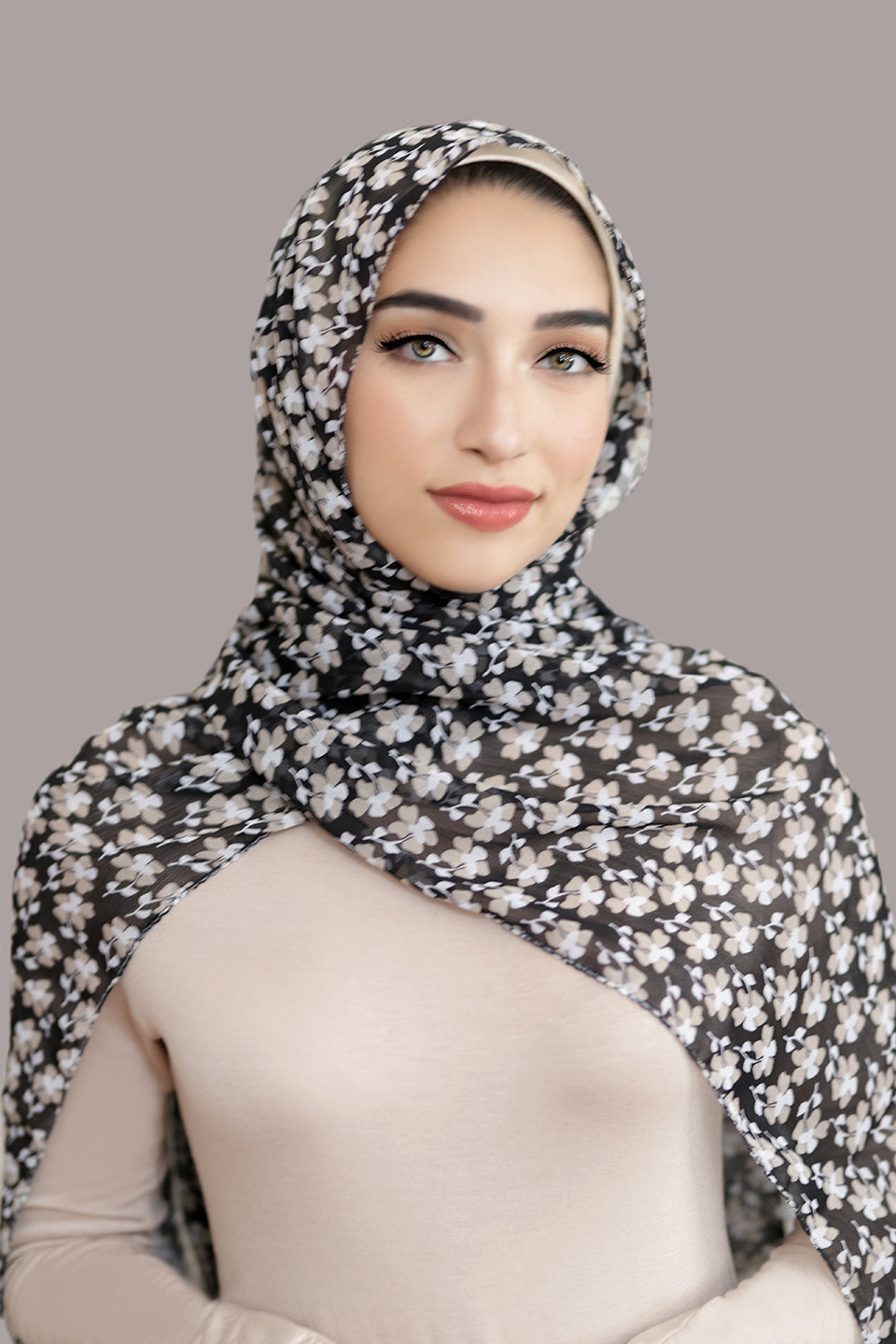 All Eyes On You Signature Chiffon Hijab