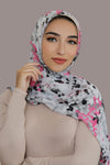 Pop Of Pink Signature Chiffon Hijab
