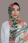 Tropical Dreams Signature Chiffon Hijab