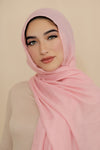 Essential Cotton Light Hijab-Pink
