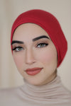 Hijab Cap-Red