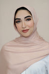Luxury Jersey Hijab-Light Mink