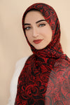 Red My Mind Signature Chiffon Hijab