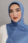 Small Jersey Hijab-Denim