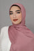 Small Jersey Hijab-Cedar Rose