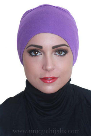 Bonnet Underscarf-Purple