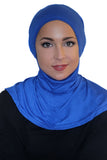 Tie Back Ninja Inner Underscarf-Royal Blue