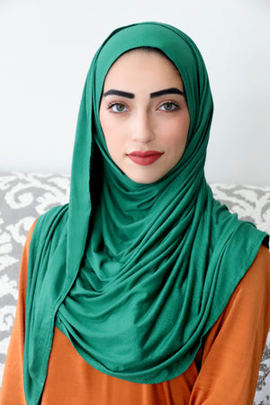 Emerald Instant Jersey Hijab