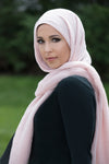 Premium Cotton Light Hijab-Pink