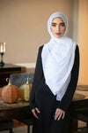 All Boxed Up Light Hijab-White