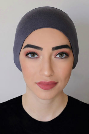 Bonnet Underscarf-Dark Grey